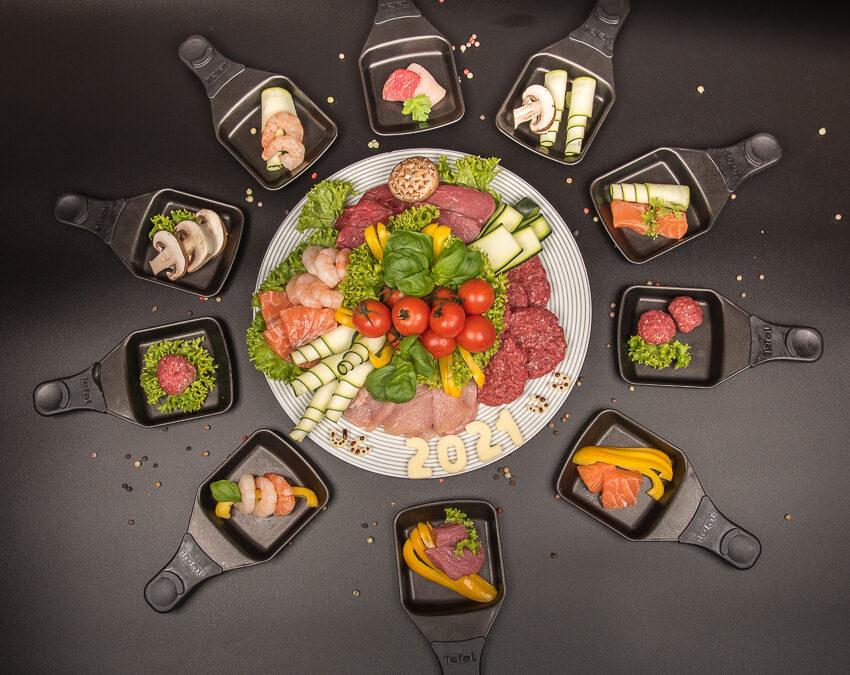 Raclette- und Fondue-Platten